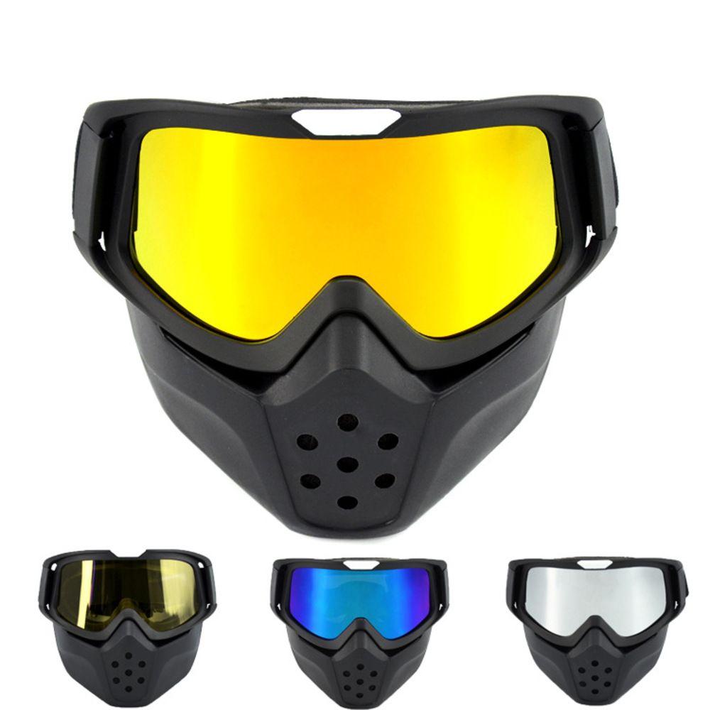 Máscara a prueba de viento, Cross Country Motorcycle Racing Goggl, Vidrio de montar al aire libre