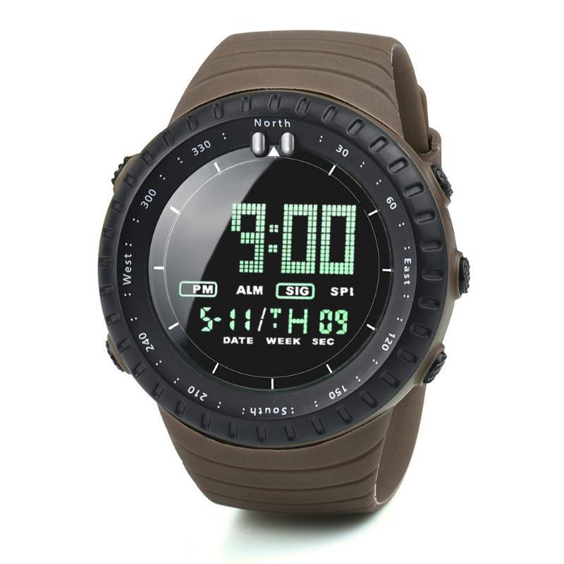 Moda erkek İzle LED Dijital Erkekler Elektronik Spor Saatler Reloj Elektroko Luminoso Para Hombre F5 Saatı