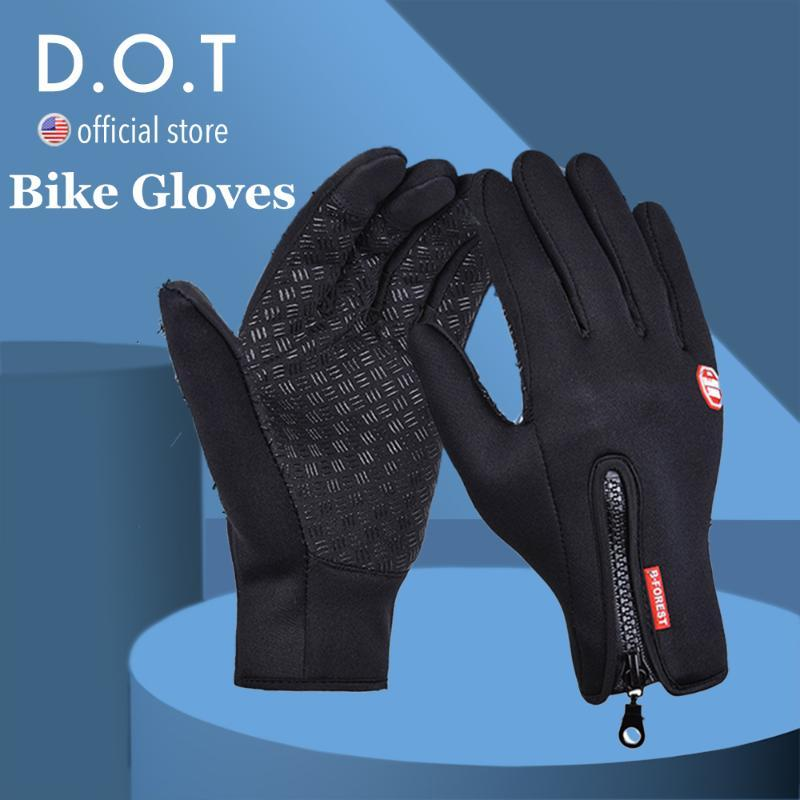 Cycling Gloves Bike Bicycle Gym Mountain Road Anti-Slip -Absorbing Gel Pad Light Weight Breathable MTB