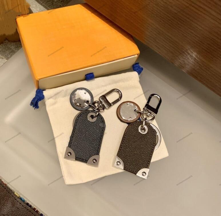 الفيرفات جلدية إلكتروني الطباعة الحلي جودة عالية معدن اليدوية للجنسين مصمم مفتاح الدائري الرجال النساء قلادة فاسق المفاتيح مجوهرات اكسسوارات