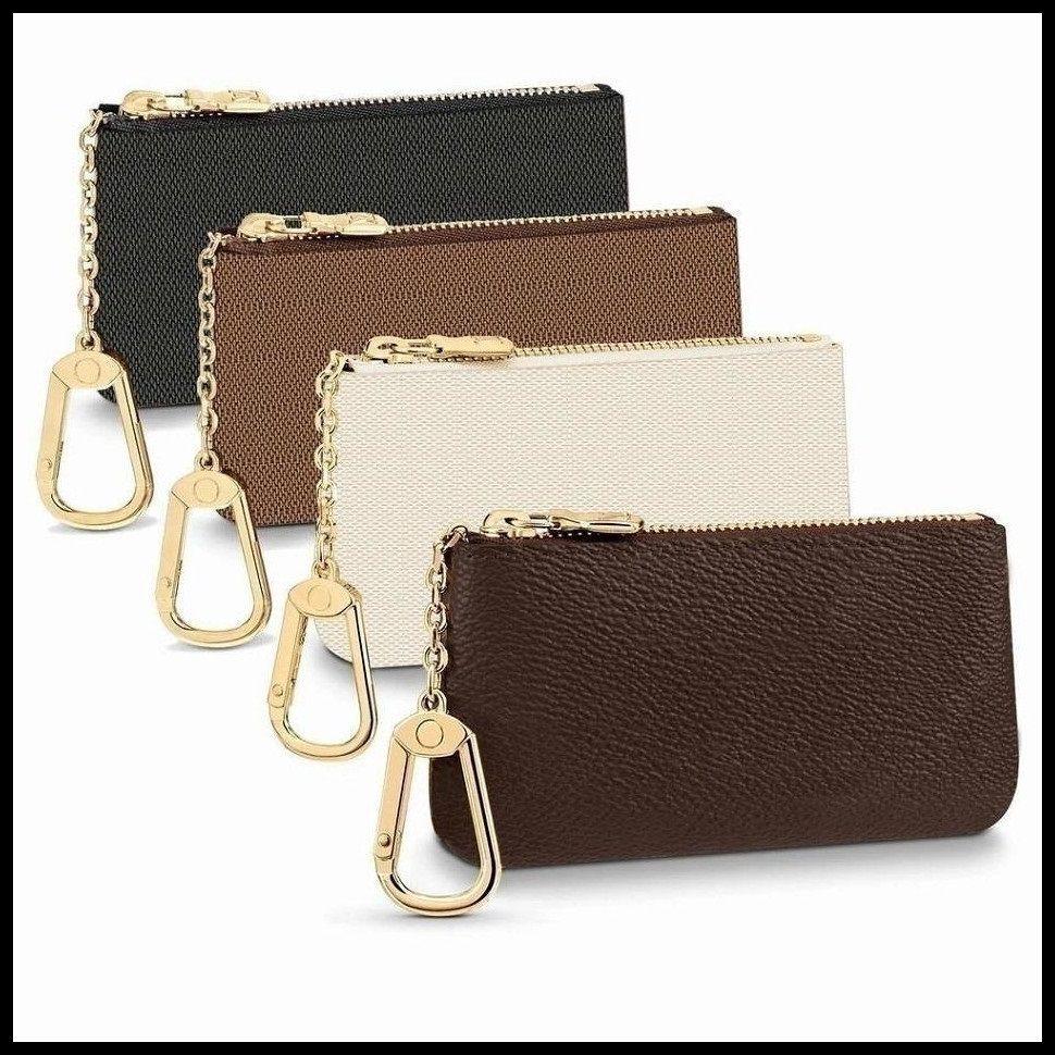 Moda Luxurys Designers França Estilo Moeda Moda Homens Mulheres Lady Leather Coin Bolsa Chave Carteira Mini Carteiras Cartão De Crédito Carteira Número de Serial M62650