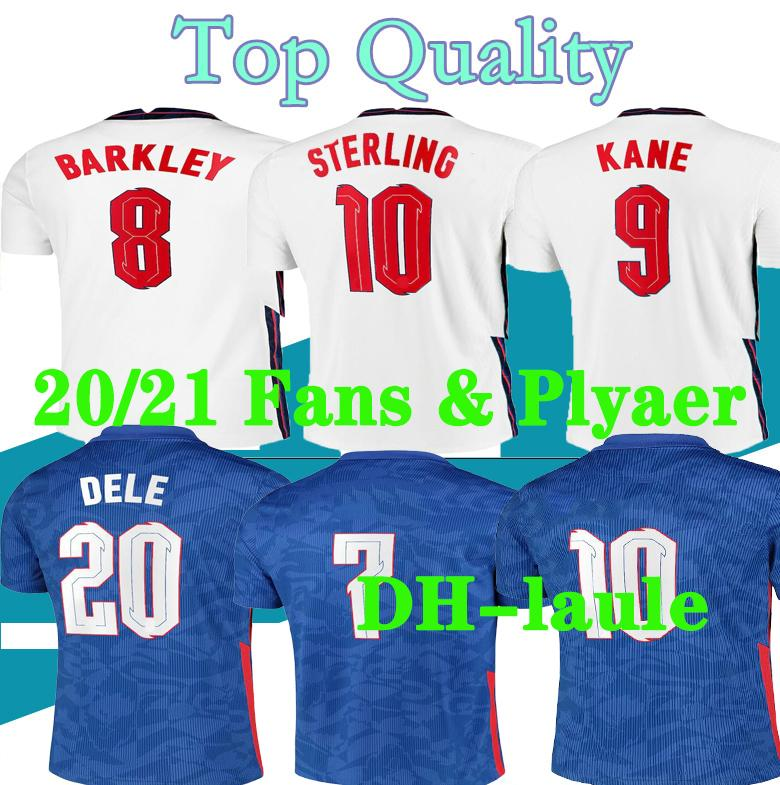 Fans player S-4XL 2020 EngLand soccer jerseys 20 21 Gerrard Lampard KANE dele sterling home away football shirt set 20 21 men kit uniforms