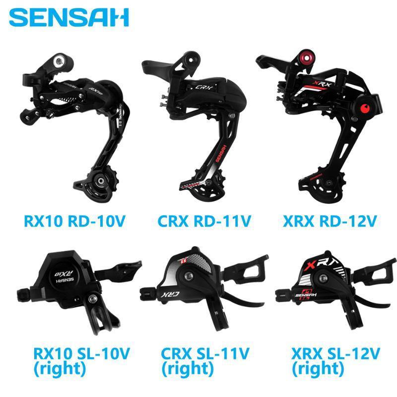 دراجة derailleurs sensah mtb mountain shifters 7 8 سرعة الخلفية RX10 CRX XRX 10/11 / 12-Speed متوافق مع M6000 M8000 M910