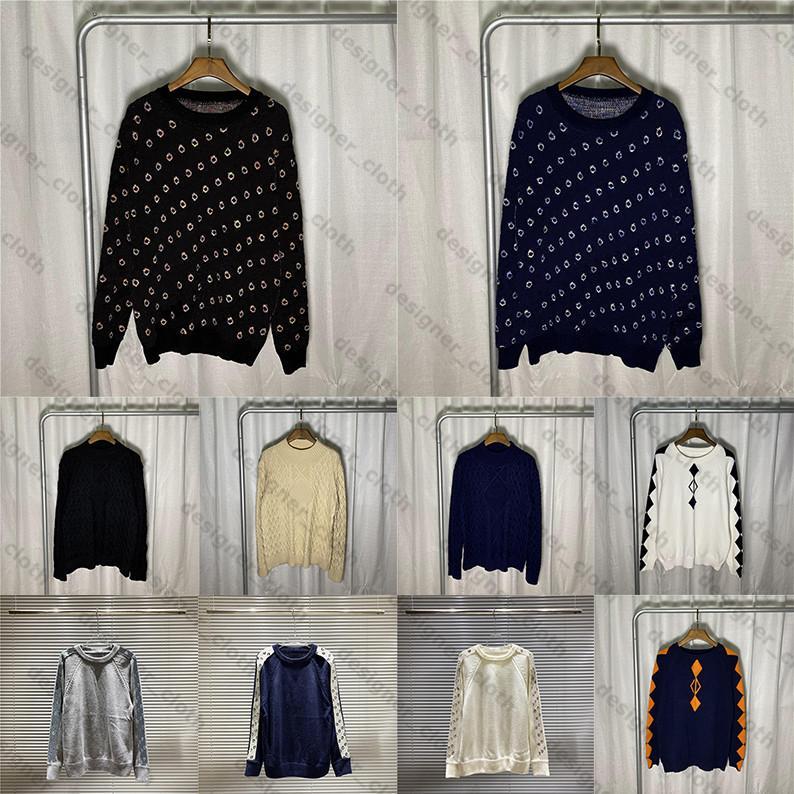 여자 망 디자이너 스웨터 고품질 브랜드 따뜻한 겨울 남자의 옷 고급 럭스 의류 니트 낮은 목 남성 스웨터 21SS