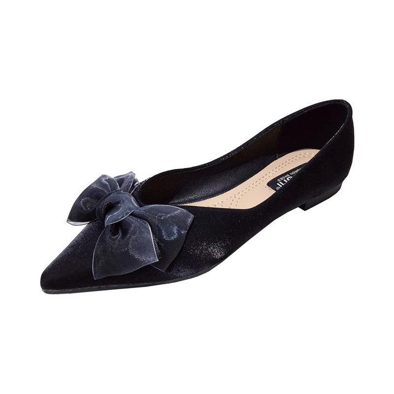 Arc plats chaussures femmes pointues orteil glisser sur des chaussures décontractées 2021 printemps nouvelle femme appartements chaussures chaussures bling élégant femme chaussure