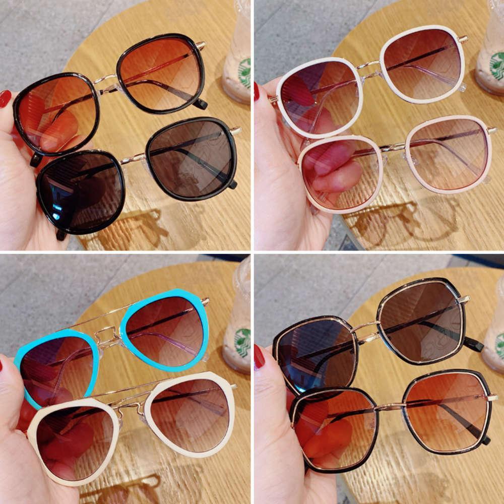 Солнцезащитные очки Корейский Детский Мода Мальчик Девушка Детские Игрушки Очки Sunshade