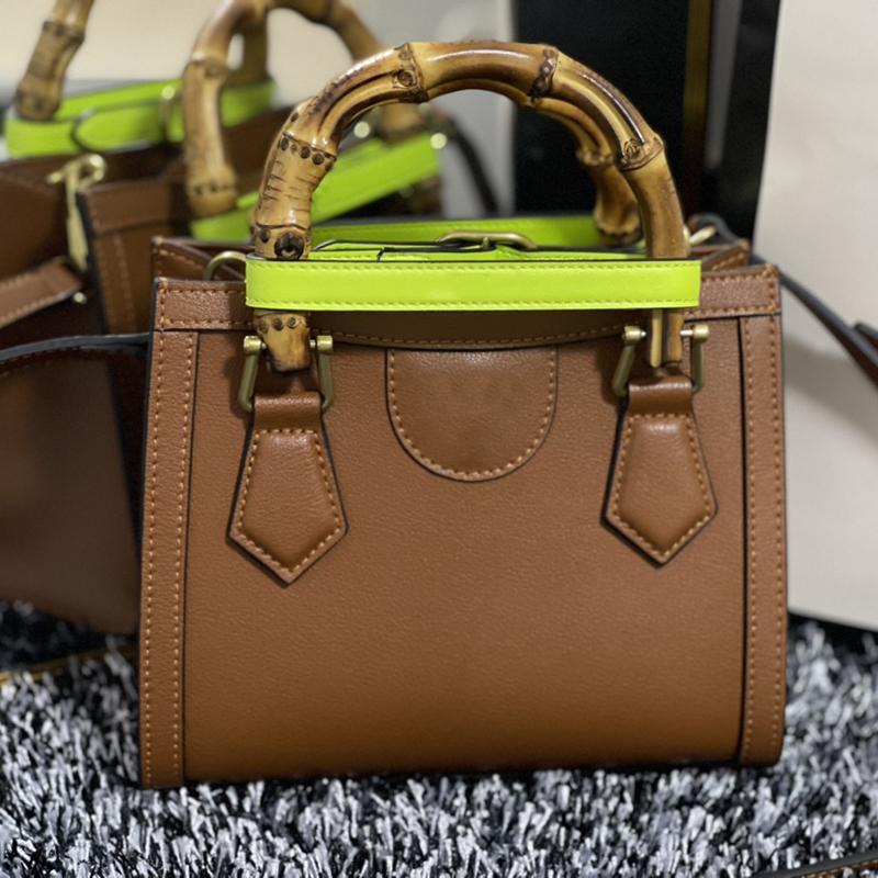 Las últimas mujeres Diana Bag Mini Crossbody Bolss de alta calidad 100% Real Cuero Moda 2021 Lady Handbag con caja