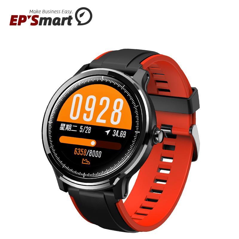 SN80 Men Smart Watch IP68 Waterproof 60 Days Long Standby 1.3 Inch Full Touch Screen Heart Rate Sport Smartwatch Reloj Intelige