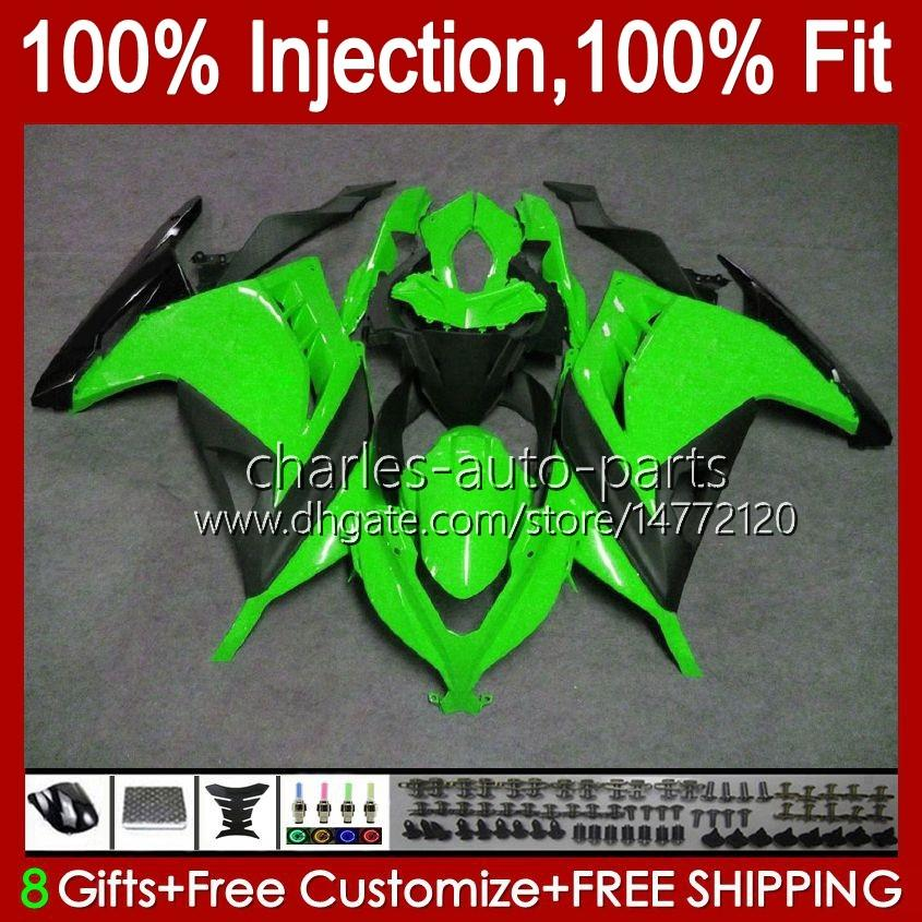 Body Injection mold For KAWASAKI ZX-3R EX-300 EX300 ZX-300R ZX3R ZX 300R 27HC.0 ZX300R ZX 3R 2013 2014 2015 2016 2017 EX300R 13 14 15 16 17 OEM Fairing Kit