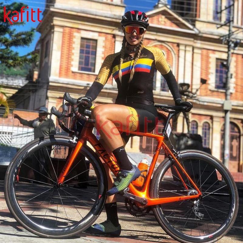 برو السيدات الدراجات جيرسي قصيرة الأكمام البدلة الطريق الدراجة الجبلية السراويل البلوز macaquinho ciclismo feminino سباق الصيف مجموعات