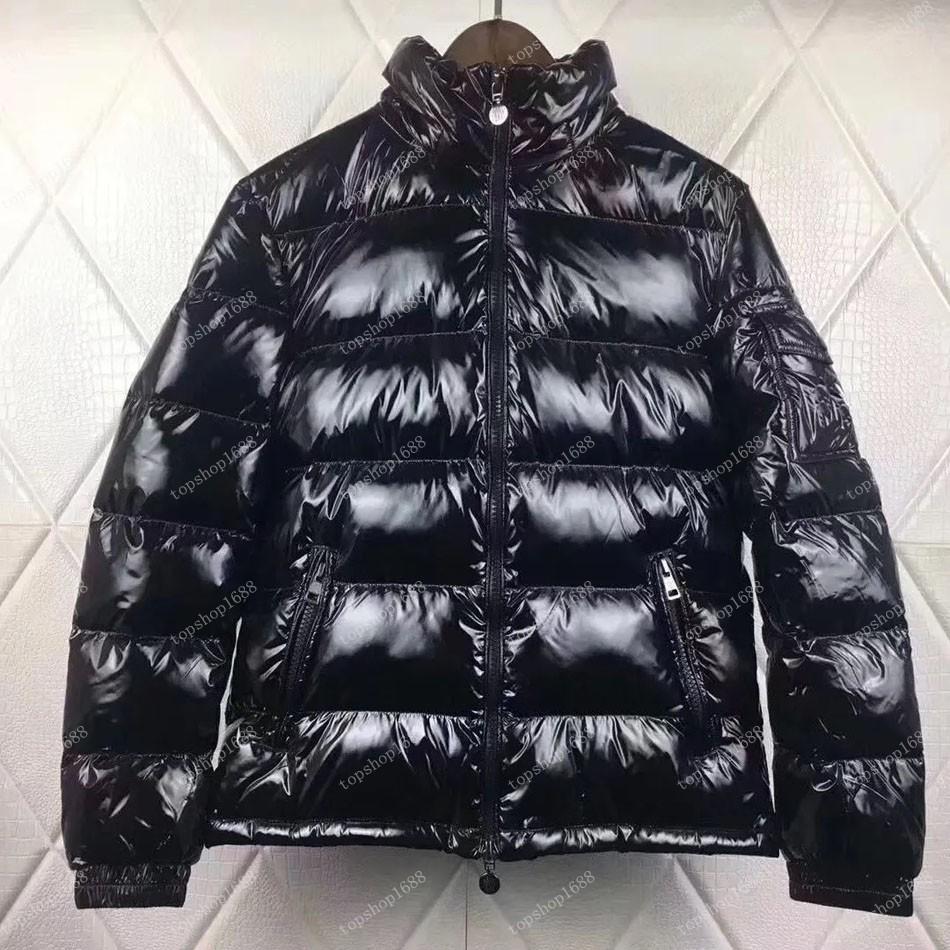 남자 겨울 아래로 자켓 윈드 브레이커 두꺼운 따뜻한 후드 패션 망 코트 고품질 화이트 오리 복어 브랜드 디자이너 파카 크기 S-3XL