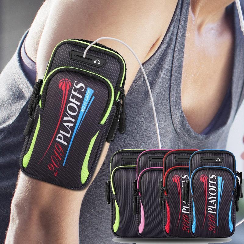 """Saco impermeável do caso do telefone da braçadeira dos esportes para pro máxima 7.2 """"banda universal do pulso do braço do esporte running"""