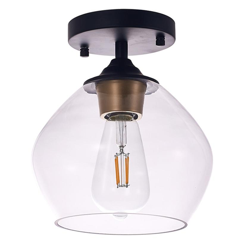 Lampada da soffitto nordica moderna lampade a soffitto a LED 20 cm profondi e 22,5 cm in alto per camera da letto soggiorno decorazione decorazioni loft cucina luci luci luci illuminazione per interni lampade