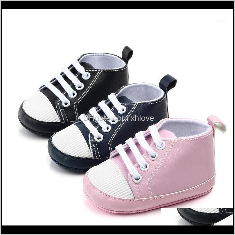 Walkers Baby, Kids & Maternity Drop Delivery 2021 Born Infant Baby Girls Boys Anti-Slip Prewalker Casual Flats Canvas Sneakers Shoes Fashion