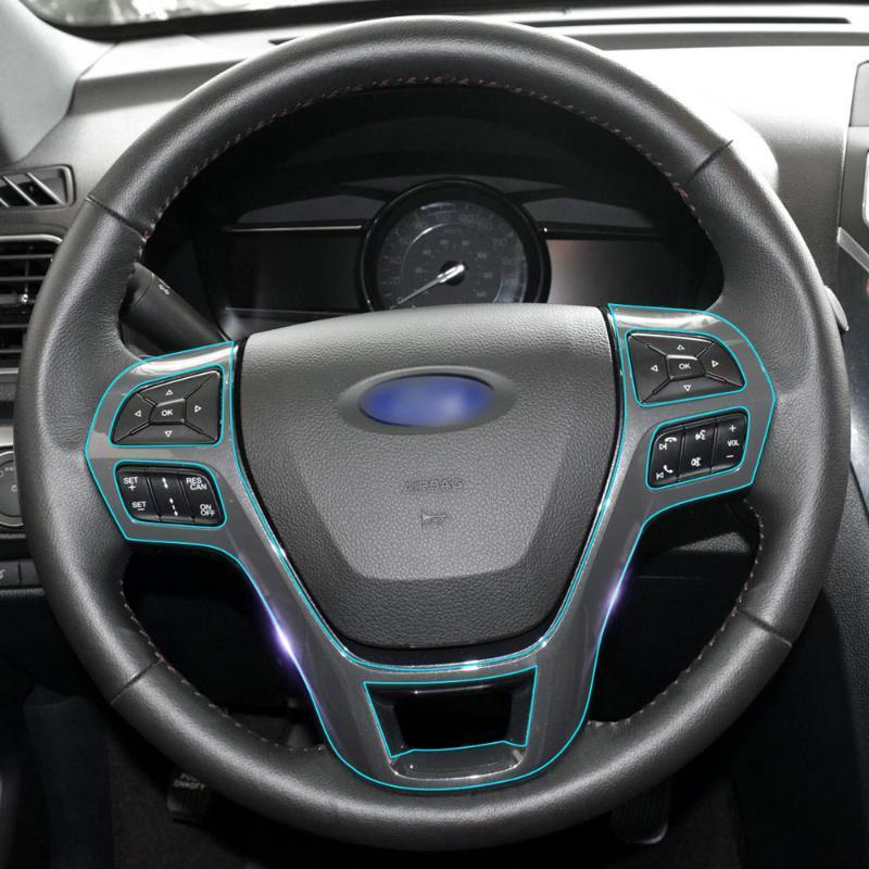 Carro Interior Central Control Engrenagem do Painel de Engrenagem TPU Película Protetora Autocolante de Cura para Explorer 2021 Acessórios Outros