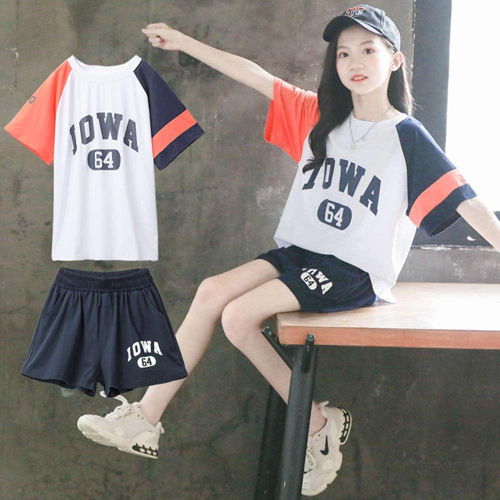 Vêtements enfants2021 costume robe d'enfants de coréenne d'été