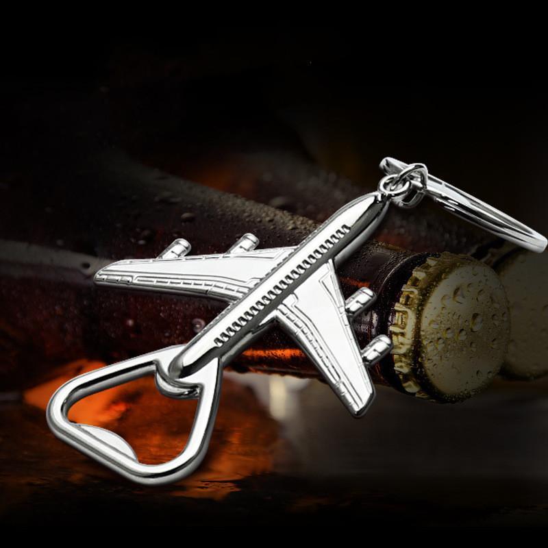 Airplane Keychains Mkendn Super Cool Hélicoptère Shape Shape Shape Chaînes de clés pour hommes Femmes Pilote Lovers Aircone Modèle Modèle Cadeaux FHL546-WY1619