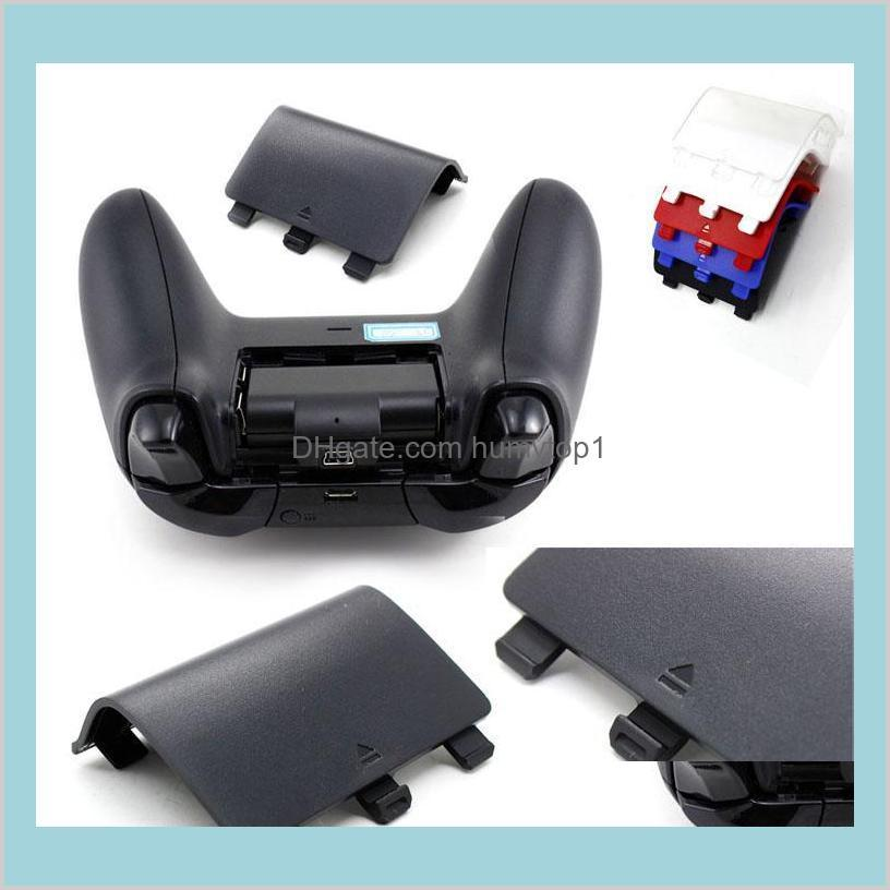 Battery Back Cover Shell Lid Door Guard Style Cabinet For Xbox One Wireless Controller Replacement Part Fedex Ems Kjaib 8Urpf