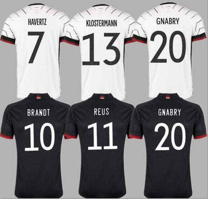 ألمانيا لكرة القدم جيرسي 2021 مراوح الإصدار هاملز كروس غنابري فيرنر درنسر ريوس مولر غوتز كأس أوروبا قميص كرة القدم