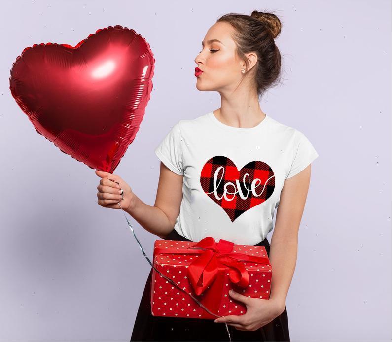 Womens Tops Valentine Tshirts Liebe Herz Grafik T-shirts Frauen Mode Harajuku Kurzarm Hemd Weiß T-Shirt Tag Geschenk