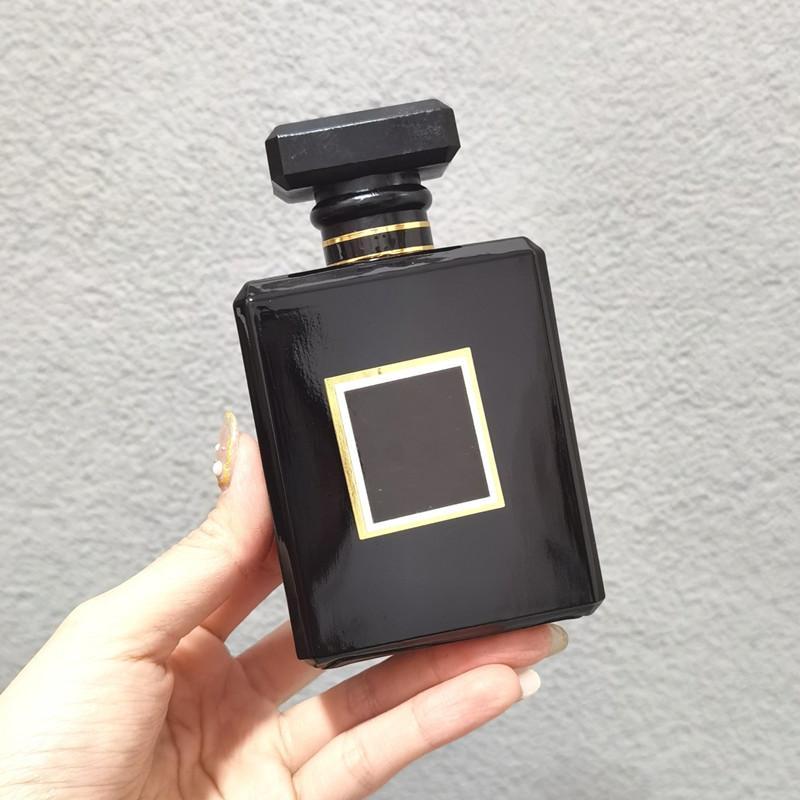 Kokulu Mum Pembe Siyah Parfüm Koku Kadınlar için Parfüm Kadın Eau De Parfum Yoğun Paris Sprey 100ml