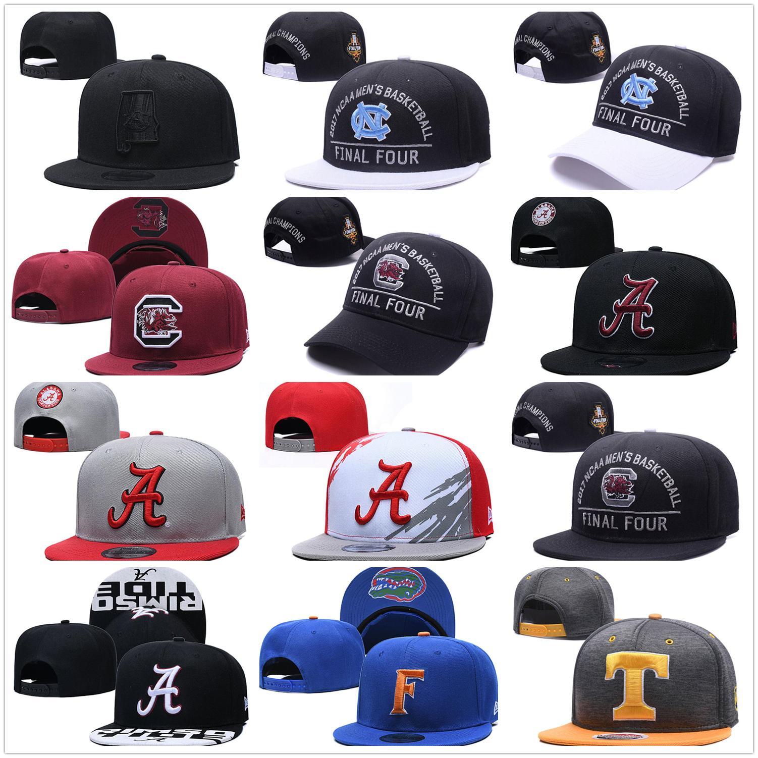 NCAA North Carolina Snapback Tar Heels Caps College قابل للتعديل القبعات جميع الجامعة في المخزون مزيج تطابق الجملة ترتيب واحد حجم واحد