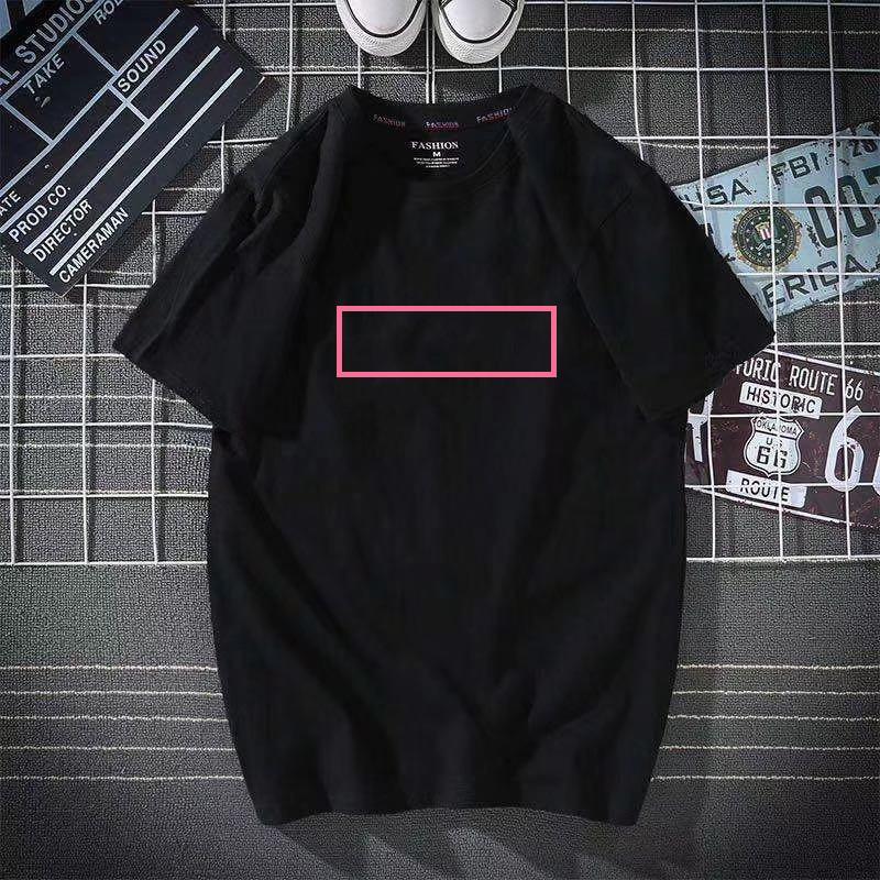 Hombre Mujeres camisetas Summer T Shirt 2021 de manga corta de lujo Top diseñador de la marca Moda de moda Hip Hop Lady Casual Ropa 179