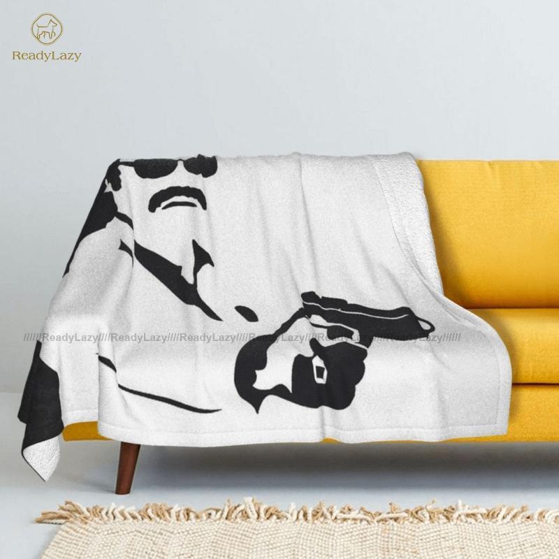 Pablo Escobar Blanket Warm Sherpa Fleece Bed Soft Bedspread Blankets