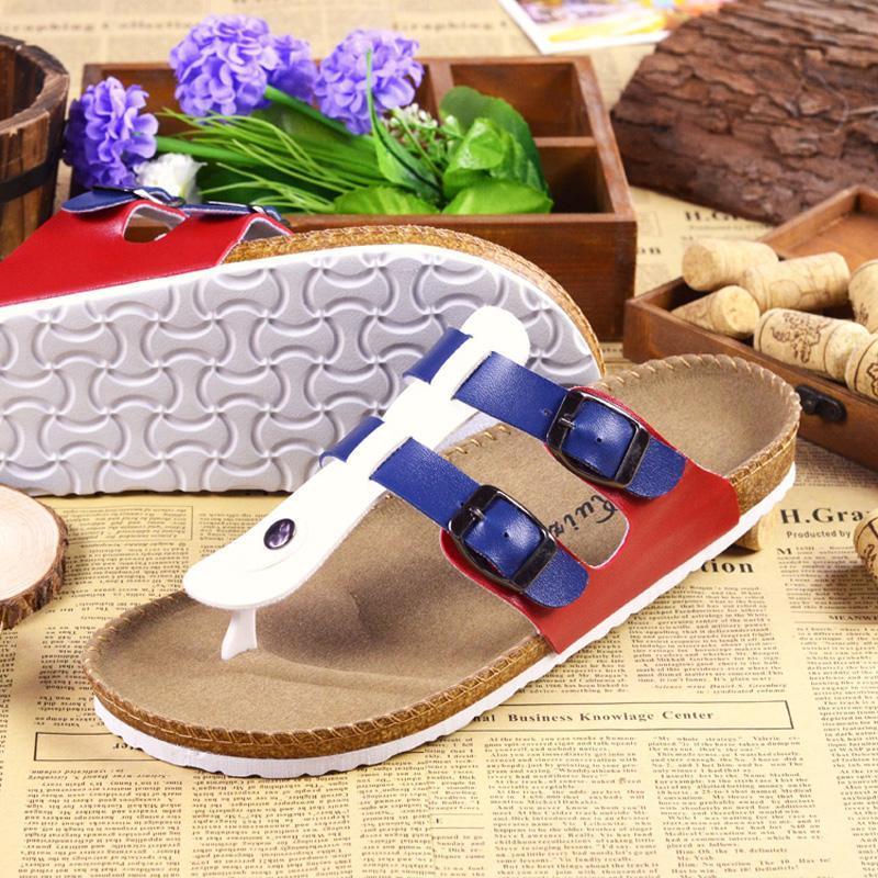 Diapositives pour sandales pour adultes Beach Unisexe Boîtes de basculement Réglable Y Réglable Y Strap Summer Pantoufles