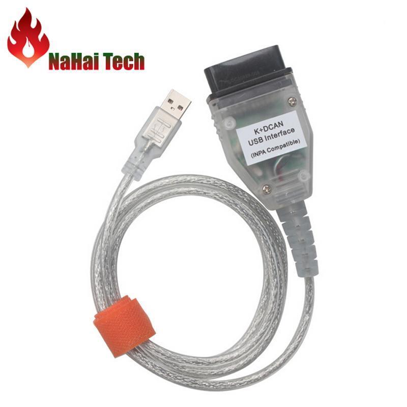 Code-Reader Scan-Tools für BM-W Inpak + DCAN USB-Schnittstelle V1.4.0 EDIABAS / INPA K + CAN D-CAN 1998-2008 Professionelles Diagnosekabel