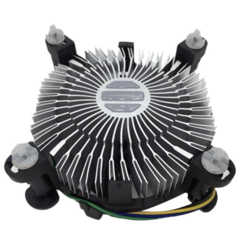 Laptop Cooling Pads CPU Cooler Universal Aluminium Alloy Mute Computer Fan PC Desktop Motherboard For Intel 775 1155