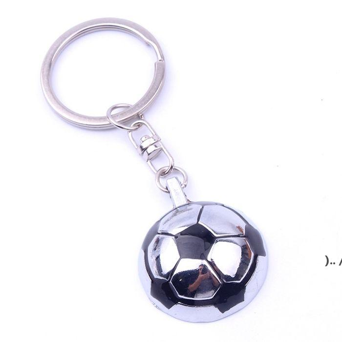 Parti Favor 3D Spor Dönen Basketbol Futbol Golf Anahtarlık Hediyelik Eşya Kolye Anahtarlık Anahtar Fob Topu Hediyeler Owe5368