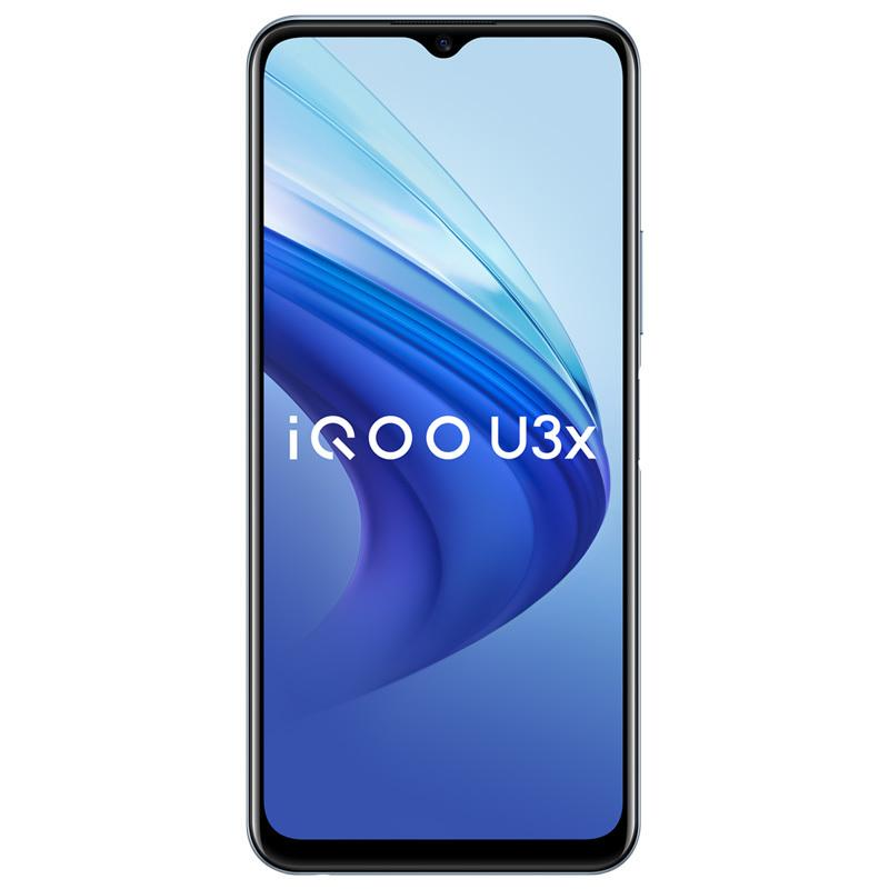 "Original vivo iqoo u3x 5g Handy 8 GB RAM 128 GB ROM Snapdragon 480 Octa Core Android 6.58 ""Full Screen 13MP 5000mAh Fingerprint id Face Wake Smart Mobiltelefon"