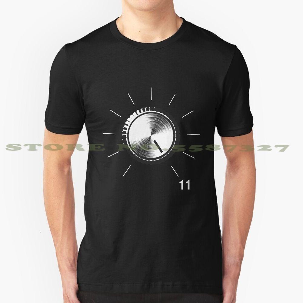 Guitar Amp - ha conseguito fino a 11 T-shirt Black White Tshirt per uomini donne