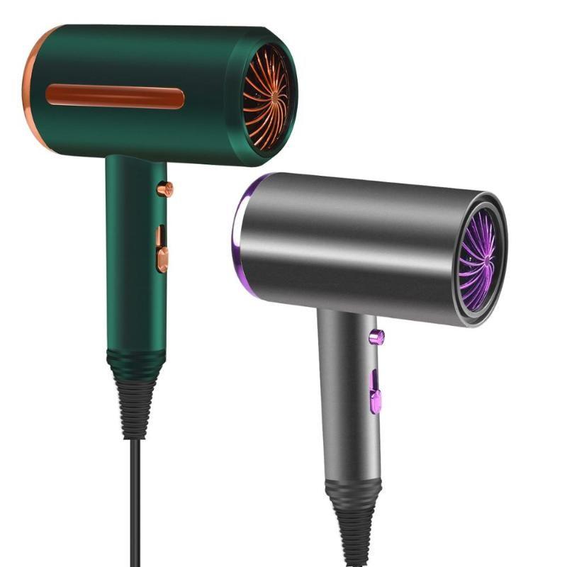 Pennelli per capelli elettrici 1000 W Asciugatrice professionale Asciugatrice Asciugacapelli Asciugacapelli Forte Air Air Air Mini Blower Secco Asciugacapelli Disattiva