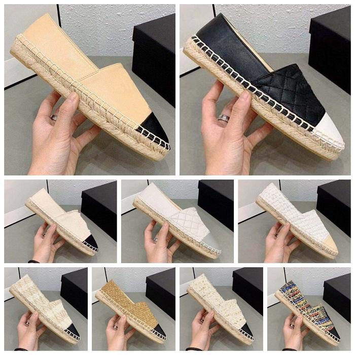 الكلاسيكية المتسكعون espadrilles عارضة الأحذية امرأة مصممين أحذية أحذية رياضية الحياكة الصياد قماش والأزياء مع مربع الأحذية 008 1