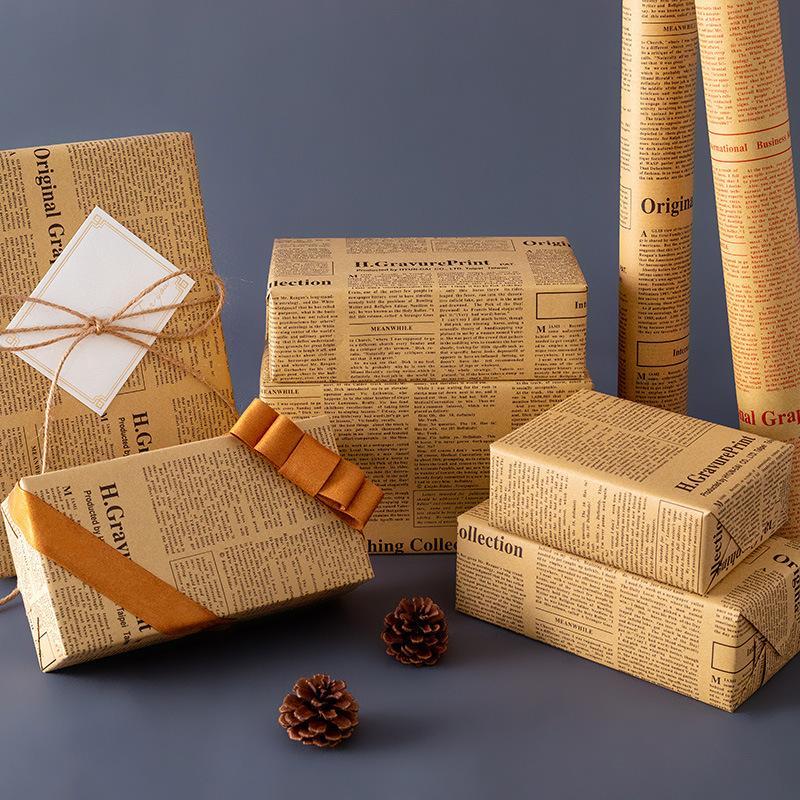 Флорист Букет Упаковка Бумага Материал Цветок Упаковка Подарочная упаковка для Рождественской Партии