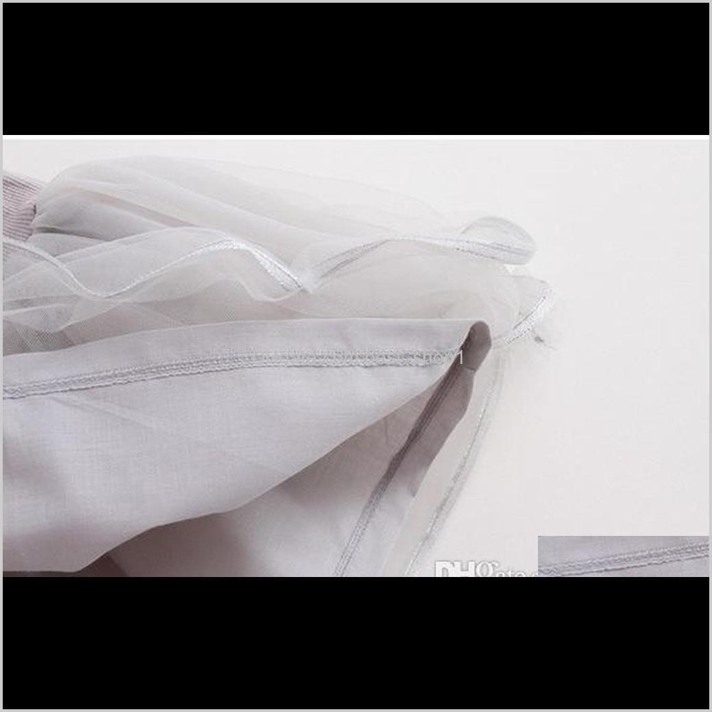 kids girls fashion summer short sleeve cartoon t-shirt +gauze skirt baby princess dress 2pcs/sets top quality