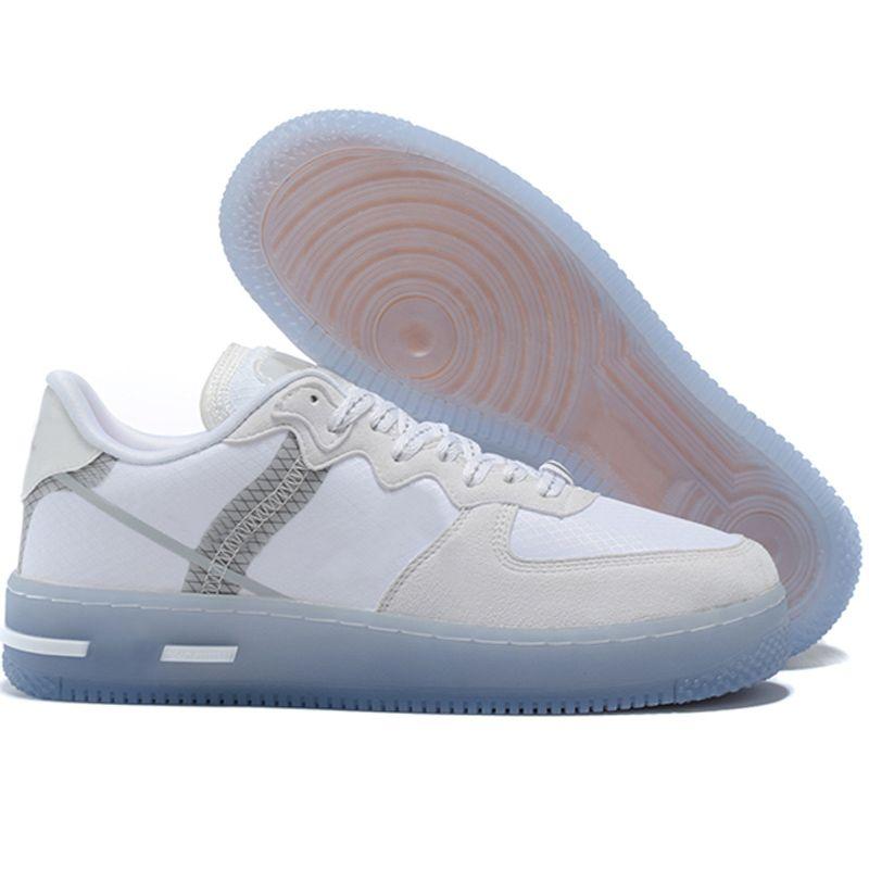 2021 Sapatos Reagir QS Night Light Para Homens Mulheres Amante Corte Baixo Skate Skate Tamanho EUR36-45