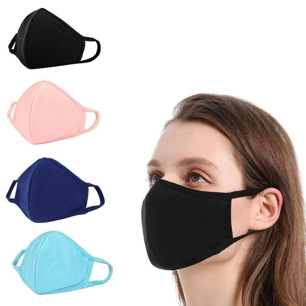 Respirador, válvula respiratoria, algodón, macho y hembra, tridimensional, negro, a prueba de polvo, lavable, reutilizable ZSBQ