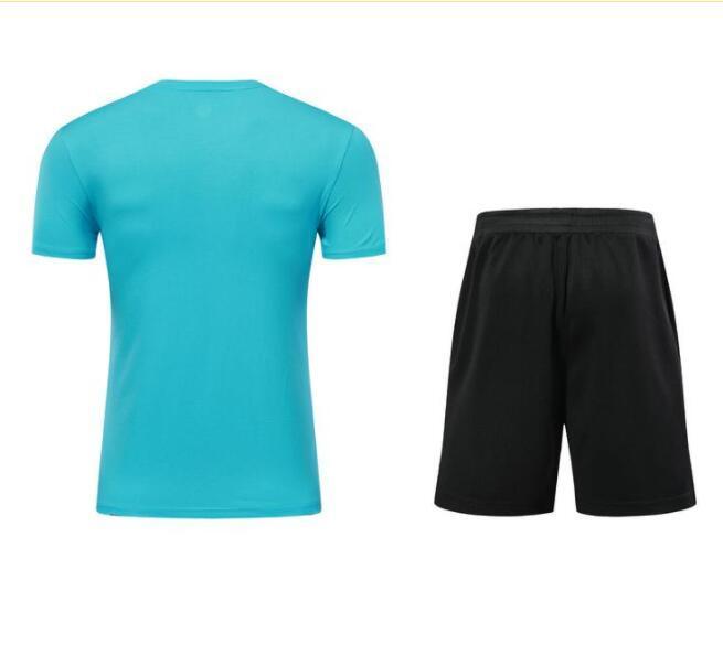 Hombres Adult Soccer Jersey Camisetas de manga corta Uniformes de fútbol Camisa 54