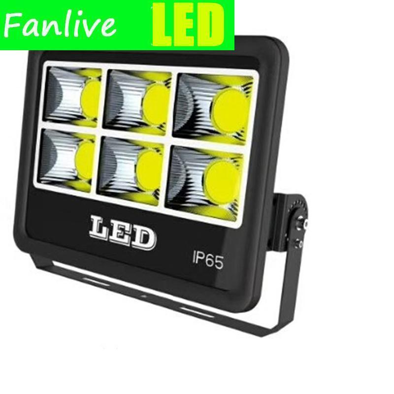 Floodlights 2PCS Waterproof IP65 COB Flood Light 600W 500W 400W 300W 200W 100W 50W Led Reflector Lamp AC85-265V Floodlight Outdoor Lighting