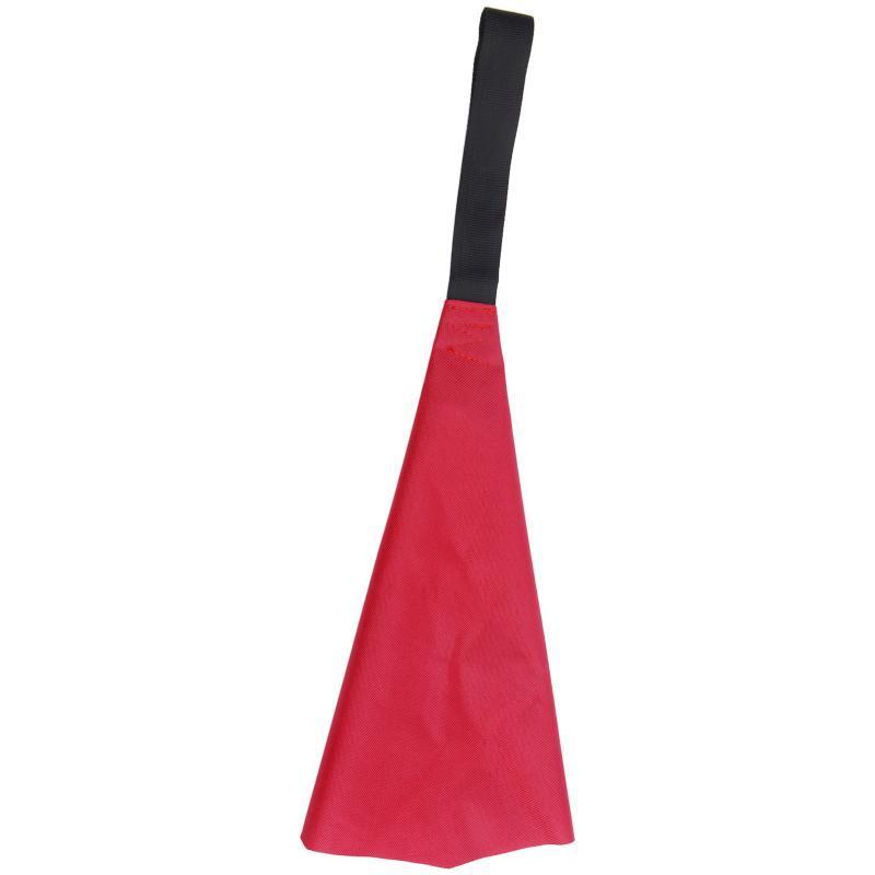 KAYAK-rote Flagge mit Gurtband-Reisewarnung für Bootskano-Sicherheitszubehörflöße / aufblasbare Boote