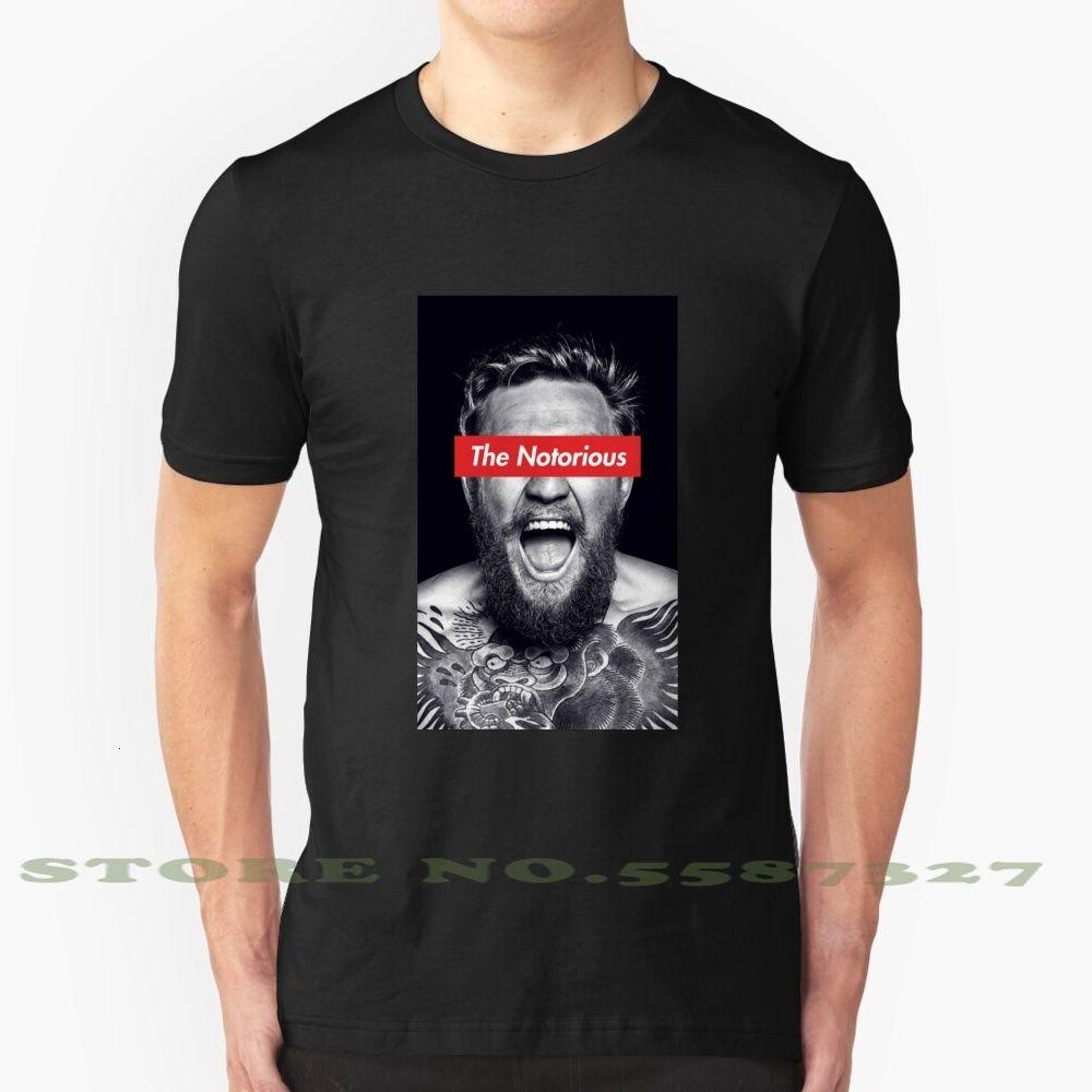 Moda vintage tshirt t camicie conor mcgregor i famigerati