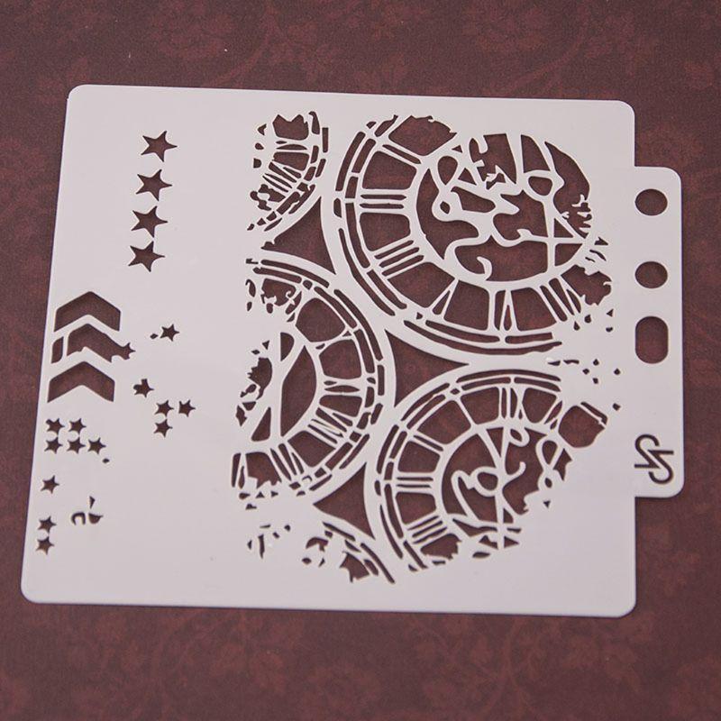 Regalo envoltura 85ac stencils plantilla plantilla pintura scrapbooking grabado estampado tarjeta bricolaje artesanía