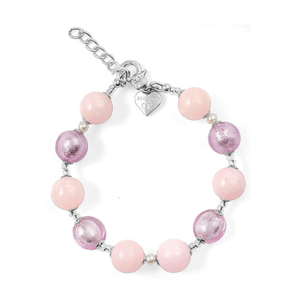Bracelet italien Boucles d'oreilles Zecchin Coloré Bijoux en verre à la main à la main