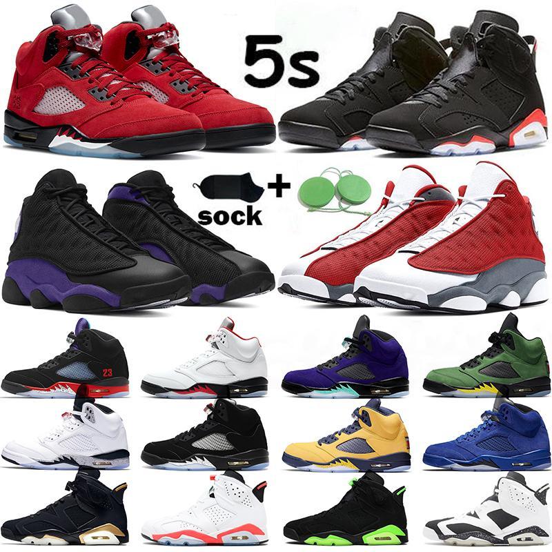 air jordan 5 6 Jumpman 5 초 남자 농구 신발 2020 SE 오레곤 대체 포도를 들어 5 남성 트레이너 OG 화재 레드 저렴한 스포츠 운동화 크기 40-47를 사육