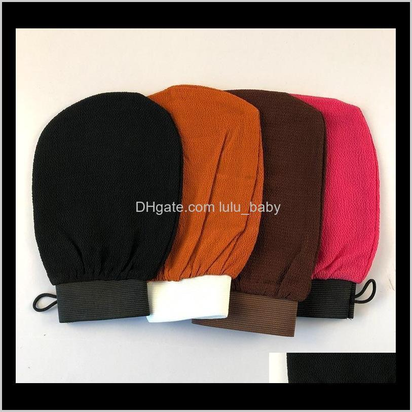 Moroccan Hammam Scrub Mitt Glove Exfoliating Body Facial Tan Mas Skin Exfoliator Shower Wash Gloves Cleaning Tool 10Pcs E7Yul Tools Ac Bvhyw