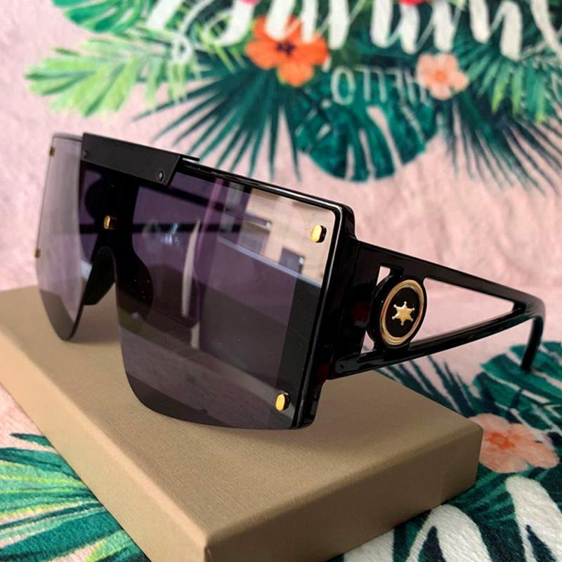 럭셔리 파일럿 펑크 선글라스 여성 빈티지 원피스 태양 안경 남자 Sunglass Oculos feminino gafas leentes de sol UV400