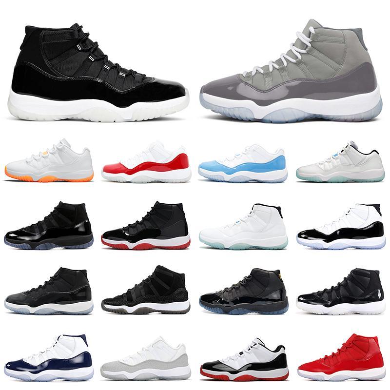 حذاء كرة السلة الرجالي من ريترو إير جوردان 11 حذاء كرة السلة Jumpman 11s Jorden AJ11 أحذية رياضية للرجال والنساء للمشي والركض